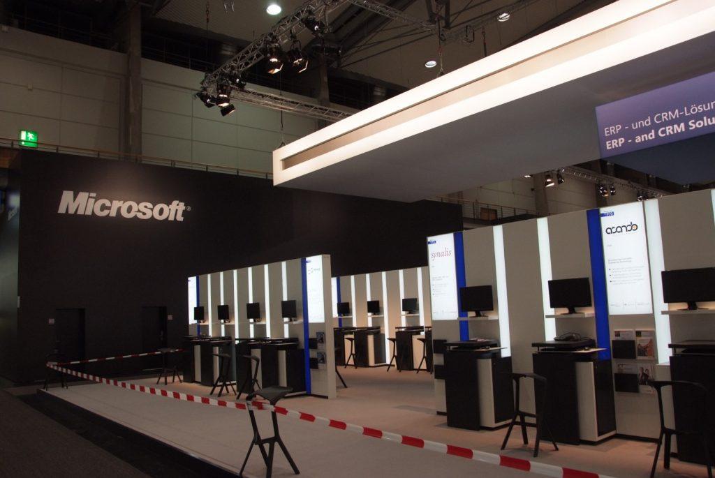 CeBIT 2012 Microsoft Leadmanagement-System