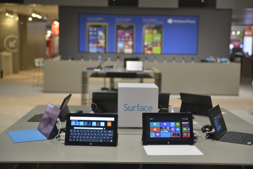 CeBIT 2013 Microsoft Leadmanagement-System für Surface
