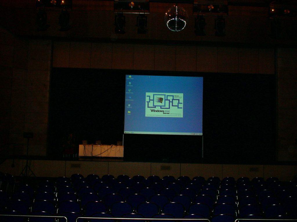 Microsoft EDU Roadshow 2000 Thema Netzwerke Schulen
