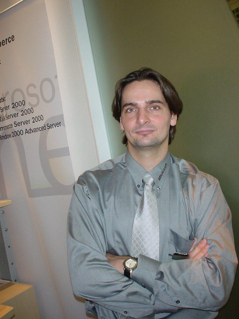 Als Speaker auf der CeBit 1996 in Hannover zum Thema Windows NT 3.51